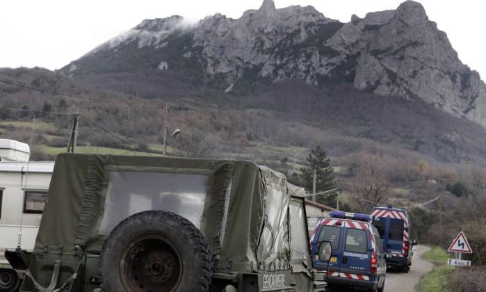 Autoridades francesas pediram para que fanáticos evitassem o local e montaram um esquema de segurança especial Jean-Philippe Arles / Reuters