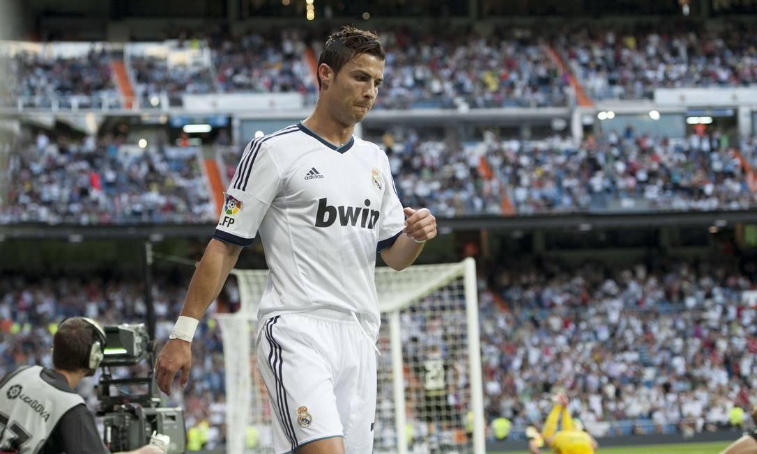 Cristiano Ronaldo disse que não vai comemorar se marcar um gol contra o Manchester United Foto: Dani Pozo / AFP