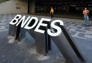 Sede do BNDES no Centro do Rio Foto: Arquivo/O Globo