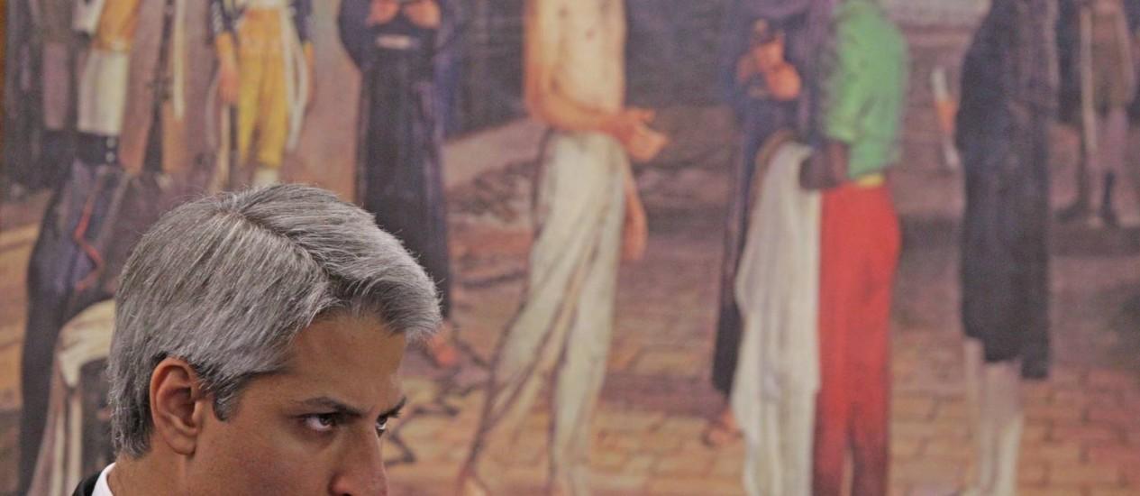 Impasse: Molon, relator do Marco Civil, diz que continuará lutando pelo projeto após recesso Foto: André Coelho/30-10-2012