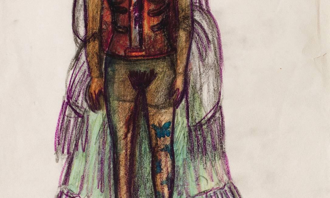 """O autorretrato que inspirou o nome da mostra: """"As aparências enganam"""" Foto: Miguel Tovar / Divulgação"""