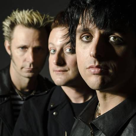 Green Day. Volta aos palcos após recuperação do vocalista Foto: Divulgação