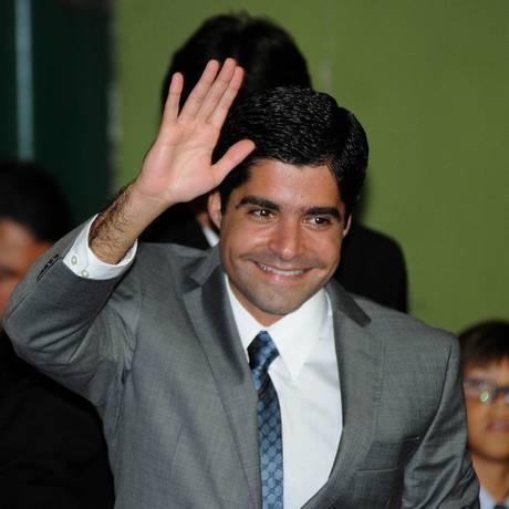 O prefeito ACM Neto durante cerimônia de posse Foto: Terceiro / O Globo