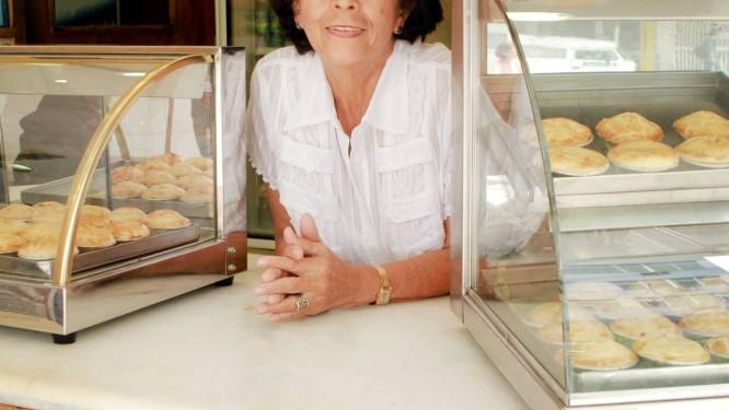 Fundadora . Alzira Gonçalves idealizou a Casa da Empada Foto: Bia Guedes