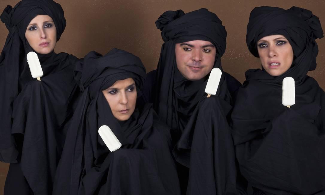 Lena Brito, Luana Martau, Saulo Rodrigues e Bel Kutner atuam em 'Oportunidade rara', com direção de Hamilton Vaz Pereira Nana Moraes / Divulgação