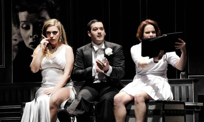 Julia Rabello, Marcos Veras e Carol Martin fazem parte do elenco de 'Atreva-se', que tem direção de Jô Soares Patricia Prade / Divulgação