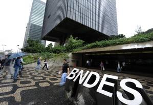 Sede do BNDES, no Rio Foto: Agencia O Globo