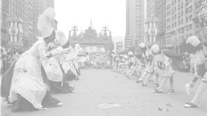 Desfile do Salgueiro de 1963 Foto: Arquivo