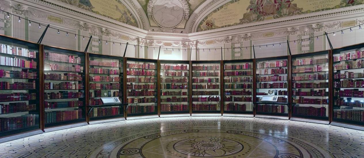 Biblioteca enfrenta desafios tecnológicos para disponibilizar acervo para consulta Foto: Divulgação