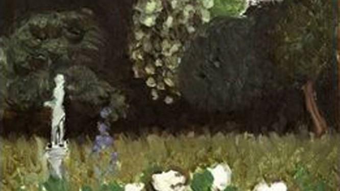 A tela 'Le Jardin' (1920), de Henri Matisse, recuperada em Londres após 25 anos desaparecida Foto: Reprodução