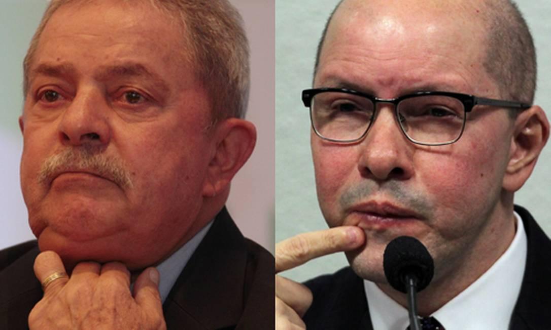 Lula e Demóstenes Torres aparecem em lista de mais corruptos de 2012 Foto: Michel Filho / Givaldo Barbosa / O Globo
