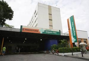 Investigação. O Hospital Salgado Filho é uma das unidades da prefeitura cujo setor de RH passará por uma auditoria Foto: Laura Marques/29-03-2012 / O Globo