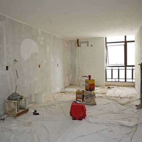 Mudanças. Um dos quartos do motel Vila Régia, situado na Zona Portuária: de olho nos turistas dos grandes eventos Foto: Márcio Alves / O Globo