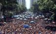 Monobloco arrastou 500 mil pessoas na Rio Branco em 2012