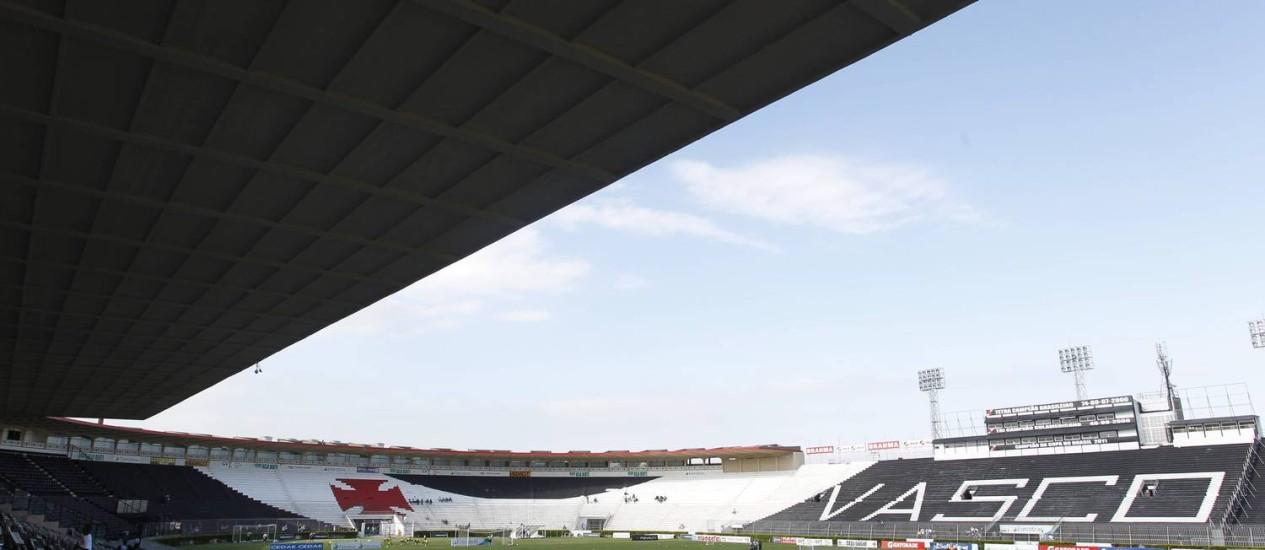 O Vasco fez mudanças em seu plano de ingressos neste ano Foto: O Globo / Marcelo Carnaval