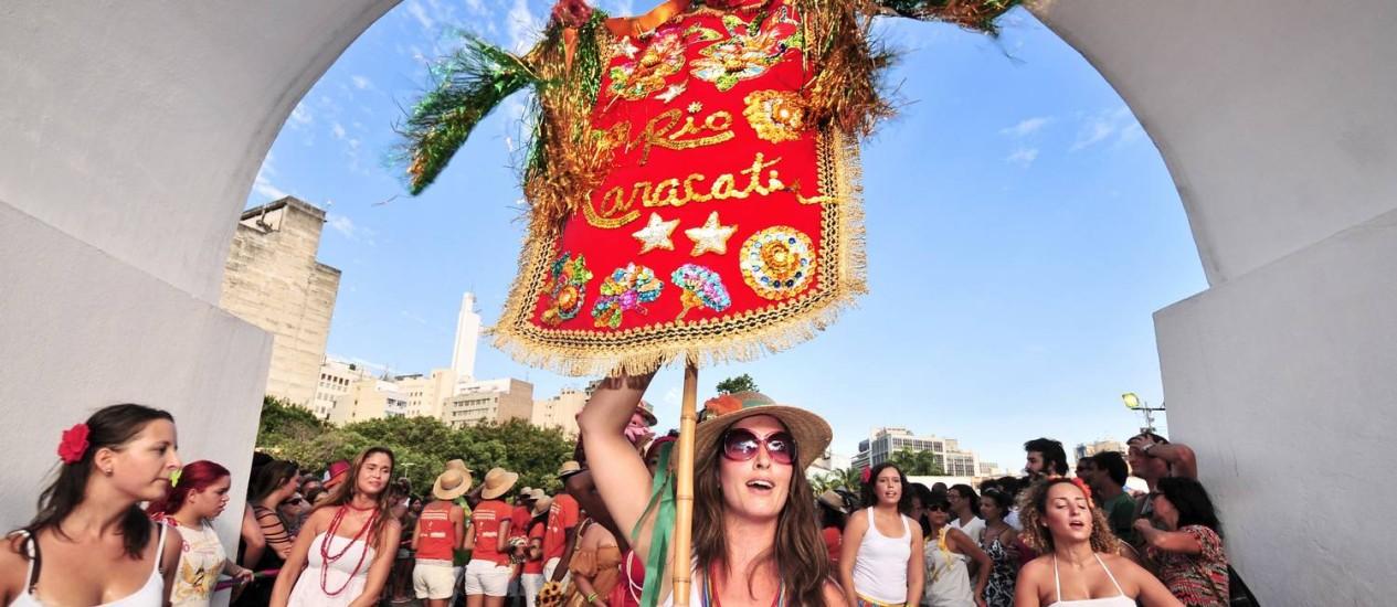 Rio Maracatu (foto) e Céu na Terra farão desfile neste domingo na Lapa Foto: Divulgação