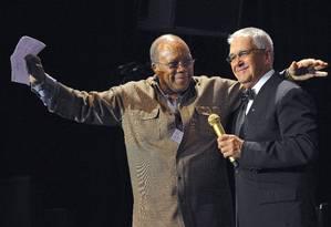 Claude Nobs planejava uma homenagem ao Festival de Montreux no Rock in Rio, com produtor americano Quincy Jones como mestre de cerimônias Foto: AFP