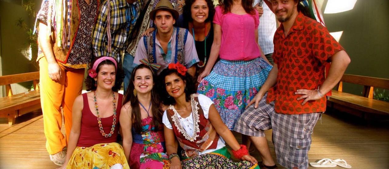 Orquestra Popular Céu na Terra vai tem no repertório ritmos variados como maxixe, frevo, marchinhas e samba Foto: Divulgação