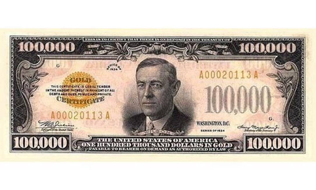 Nota de US$ 100 ajudou a recuperarr a economia do país