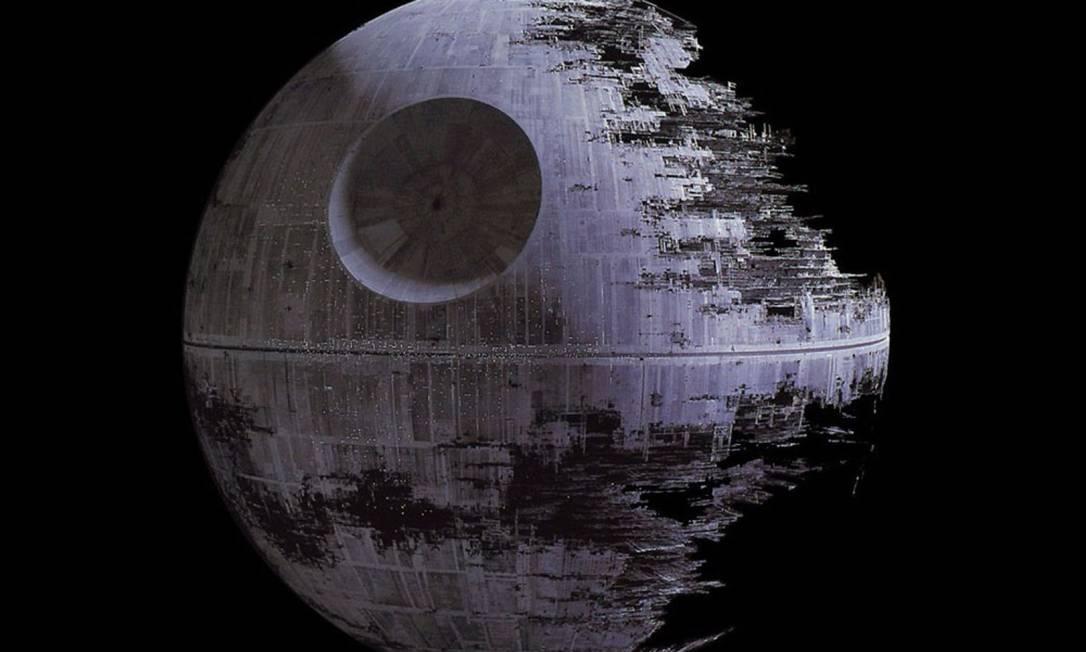 """Superarma do filme """"Guerra nas Estrelas"""" era capaz de destruir planetas Foto: Reprodução"""