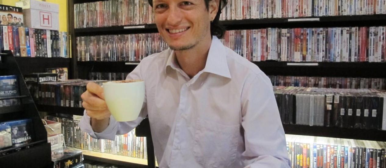 Leonardo Letelier, fundador da SITAWI — Finanças do Bem, que faz empréstimos a ONGs com juros bem abaixo do mercado e com menos burocracia Foto: Mauro Ventura / O Globo