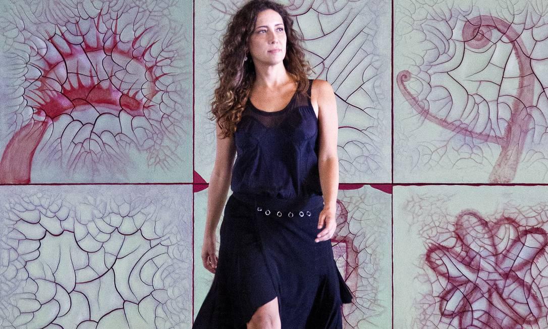 Adriana Varejao abre exposicao no MAM Foto: Leonardo Aversa