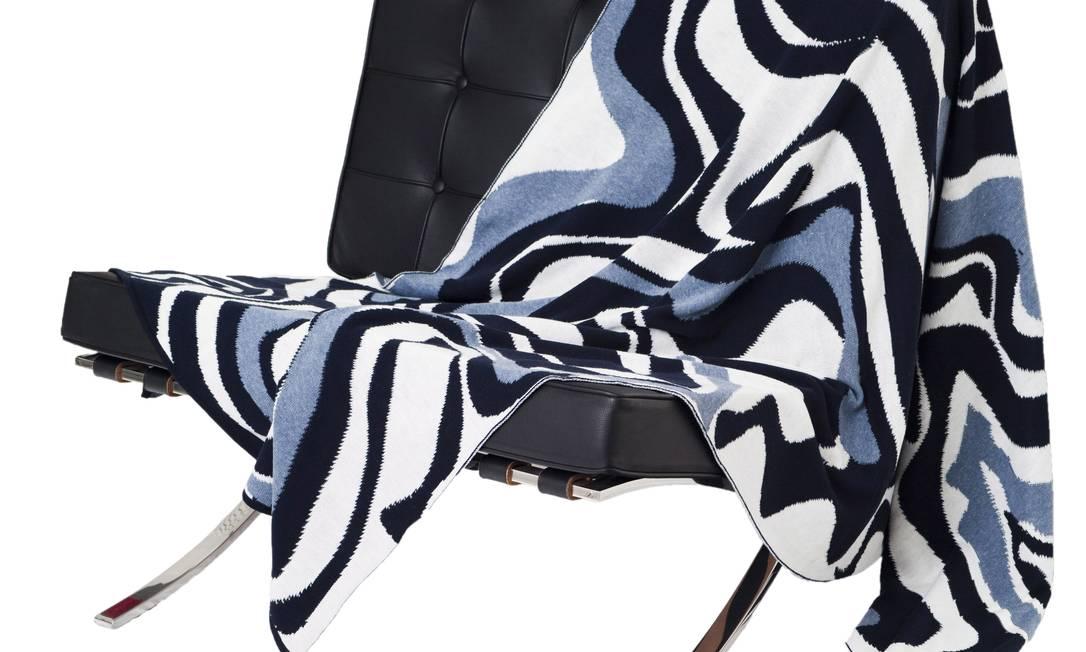 Na Área Útil, de decoração, mantas da Paola Muller, de R$ 495 por R$ 395 Divulgação