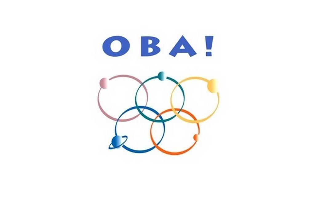 A logomarca da Olimpíada de Astronomia foi retirada do site do evento Foto: REPRODUÇÃO DA INTERNET