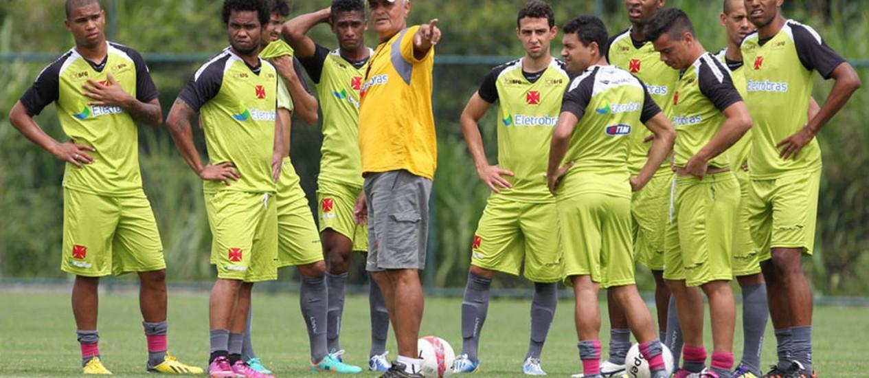 Jogadores do Vasco devem receber salários atrasados na próxima semana Foto: Marcelo Sadio/Divulgação Vasco