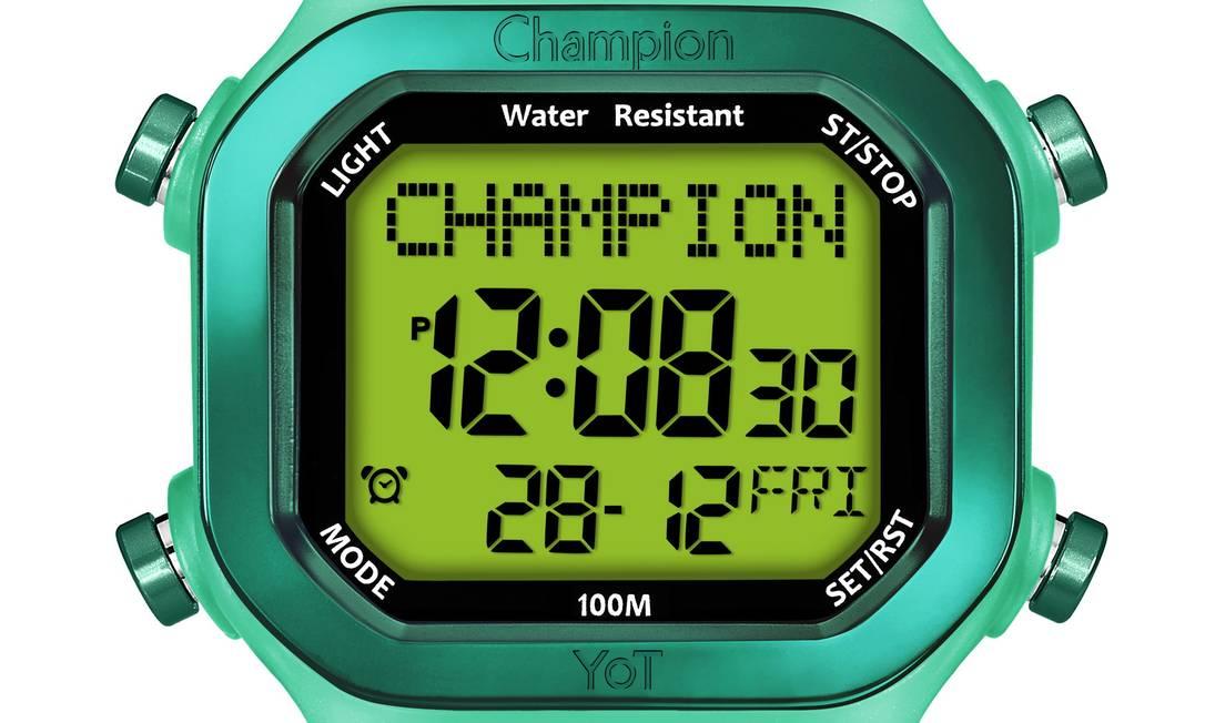 Relógio da Champion por R$ 199 na Brothers Presentes na Avenida das Américas 4.666, Barra Divulgação