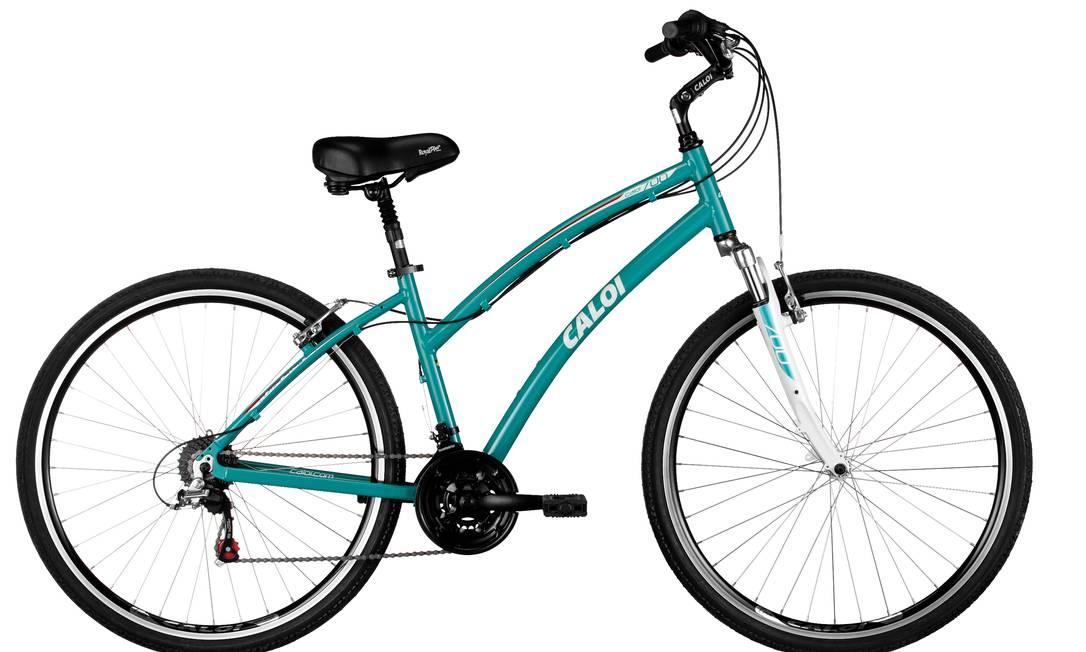 Bicicleta Caloi por R$ 999 na Bike Tech, na Avenida Bartolomeu Mitre, 455, Leblon. 2239-3600 Divulgação