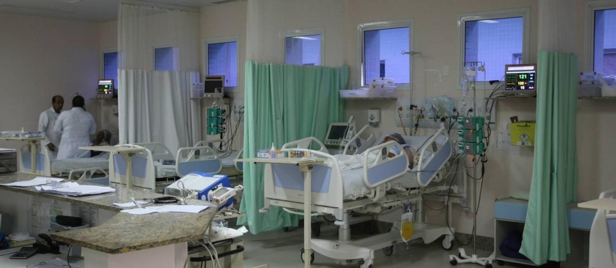 Hospital Municipal Mariana Maria de Jesus, em Quissamã Foto: Agência O Globo / Eduardo Naddar