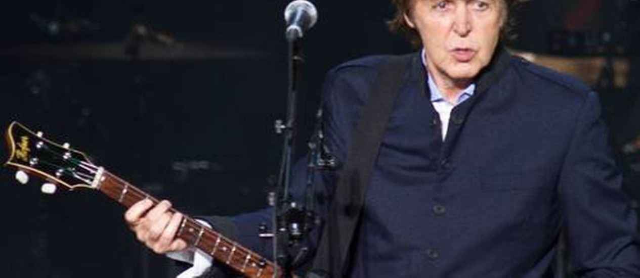 O ex-beatle Paul McCartney Foto: Divulgação