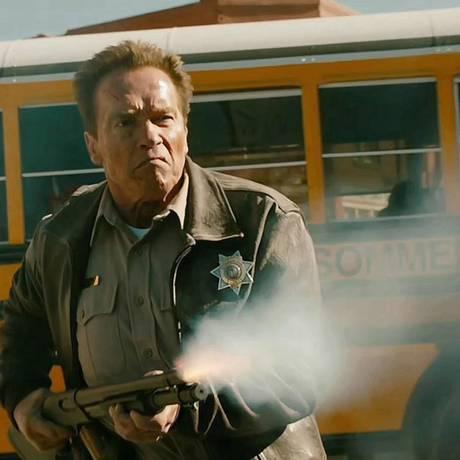 Arnold Schwarzenegger em
