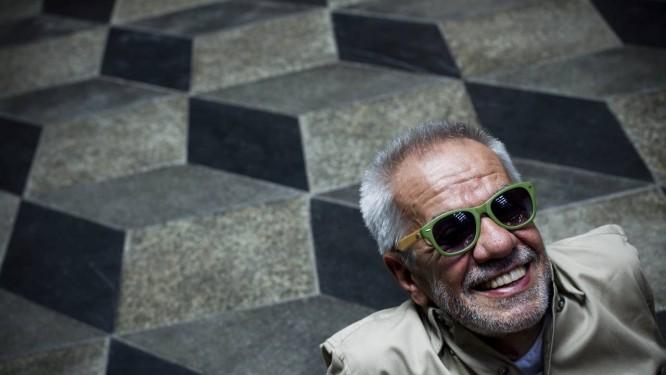 O produtor cultural Perfeito Fortuna, aos 62 anos Foto: Guito Moreto / O Globo