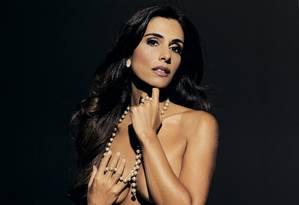 Mônica Veloso foi capa da revista 'Playboy' Foto: Divulgação