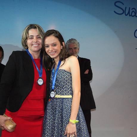 A estudante Patrícia Vieira Queiroga e a professora Sandra Regina de Oliveira , de Pombal (PB) Foto: Bernardo Rebello