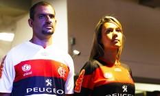 O Flamengo encerrou a parceria com a Peugeot Foto: Jorge William