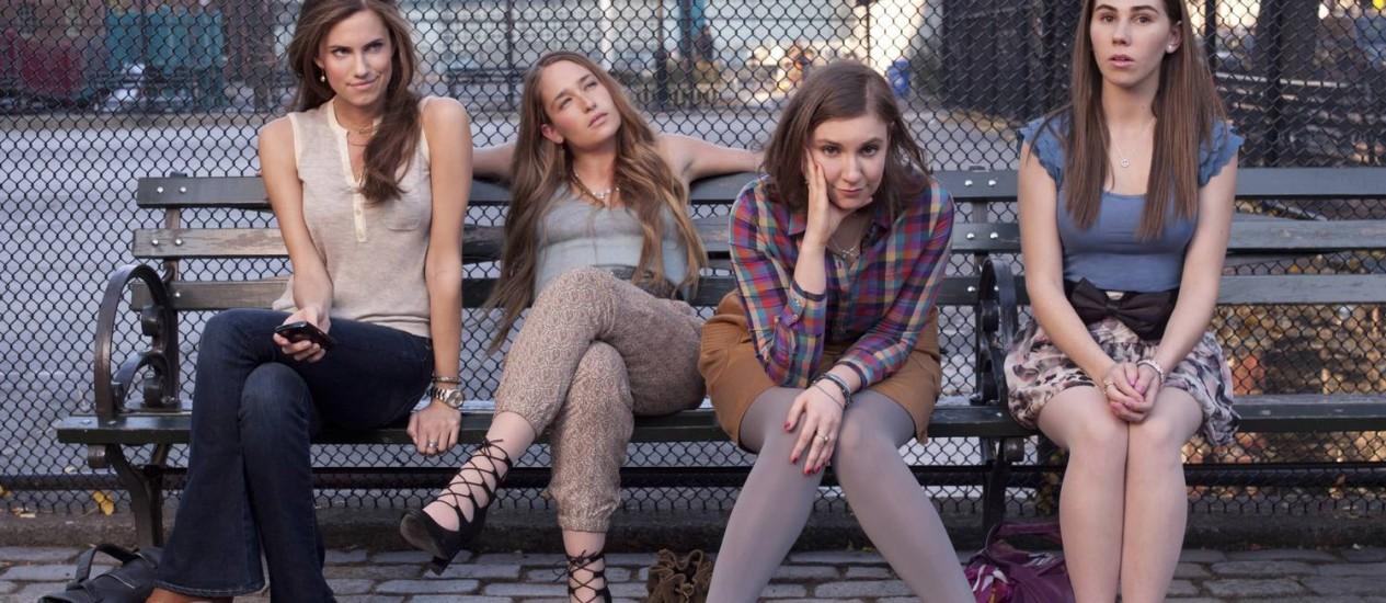 """As personagens da série """"Girls"""" Foto: Divulgação"""