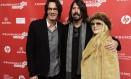 Dave Grohl, entre Rick Springfield e Stevie Nicks, no Festival de Sundance Foto: Chris Pizzello / AP