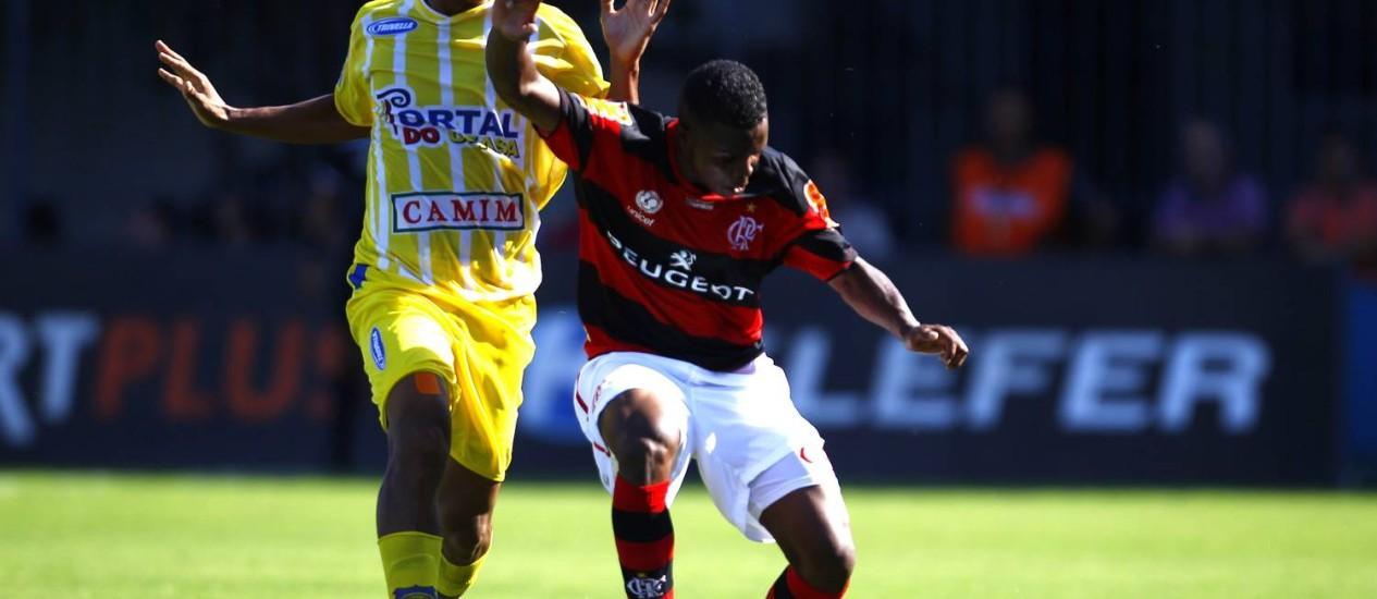 Madureira e Flamengo jogam em Conselheiro Galvão Foto: Jorge William