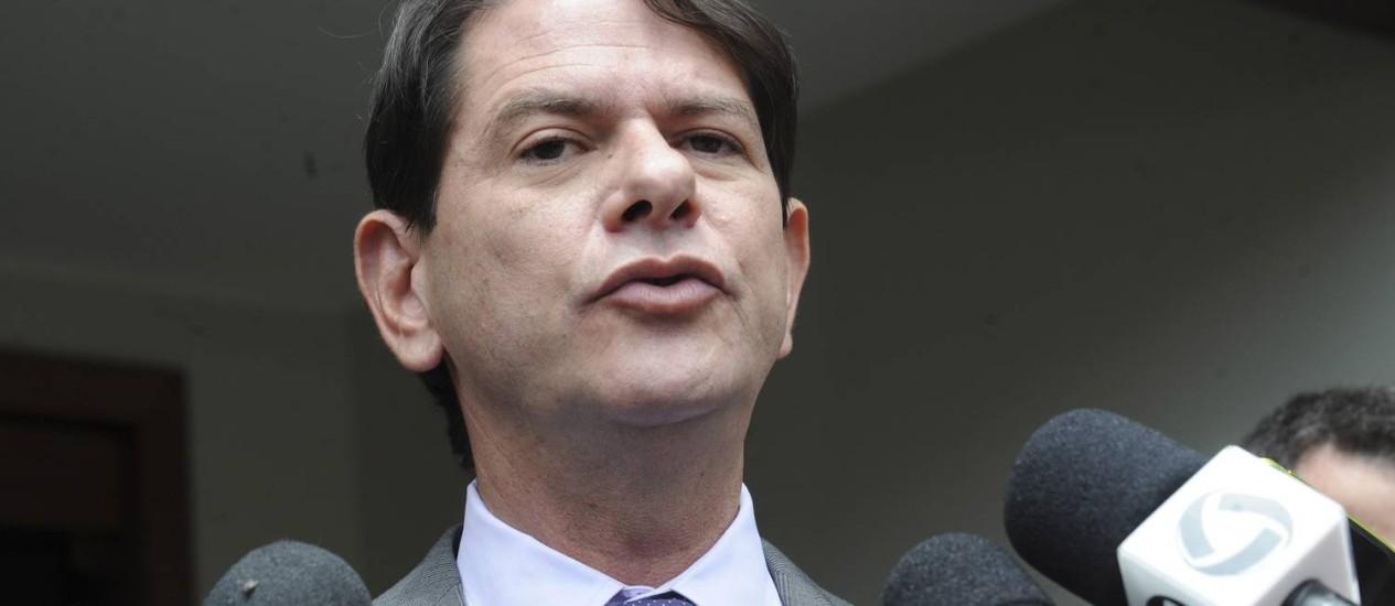 Governador do Ceará, Cid Gomes Foto: Agência Brasil