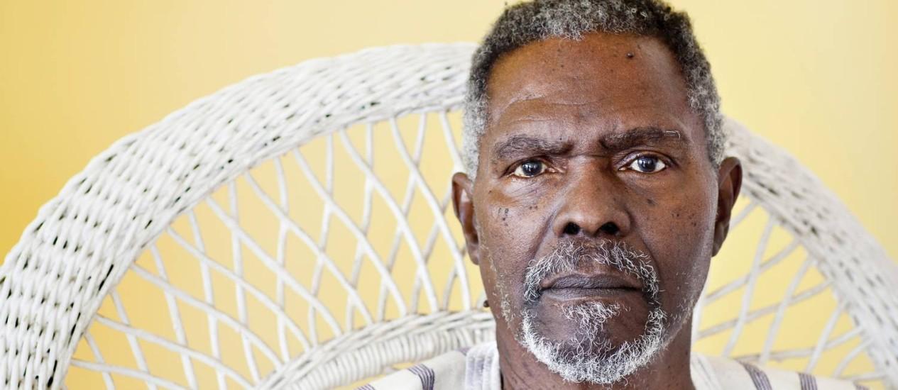 Zózimo Bulbul, um dos principais ativistas do movimento negro na cultura brasileira, morreu nesta quinta-feira Foto: Simone Marinho / Agência O Globo