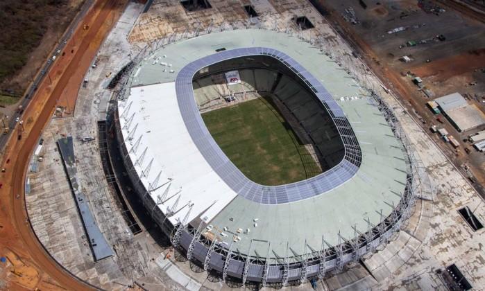 O Castelão foi o primeiro estádio da Copa do Brasil a ficar pronto no começo de dezembro de 2012 Divulgação Portal da Copa
