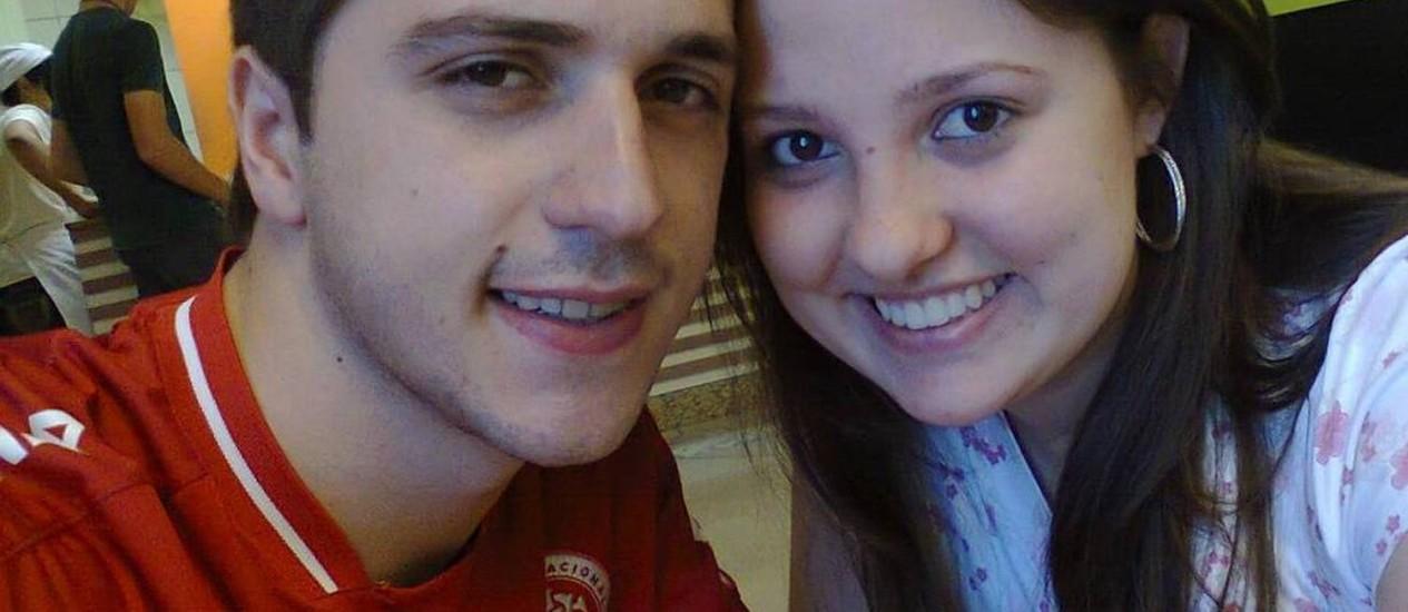 Parentes reconheceram os corpos do casal de namorados Roger Dallagnol, de 21 anos, e Susiele Cassol, de 19 anos Foto: Facebook / Reprodução