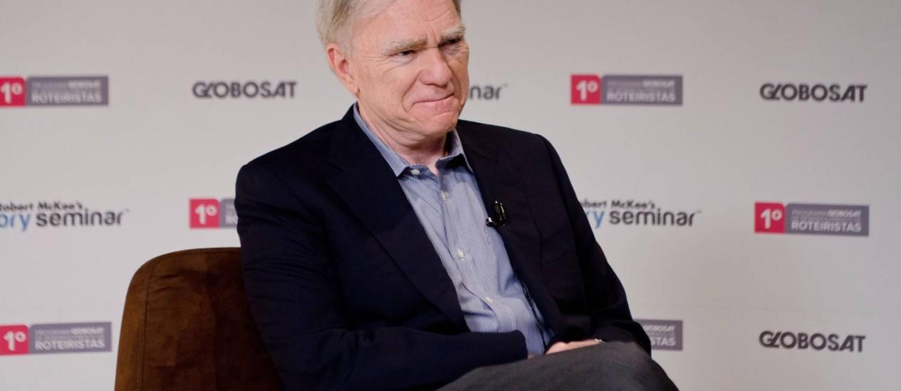 Robert McKee, roteirista norte-americano Foto: Divulgação