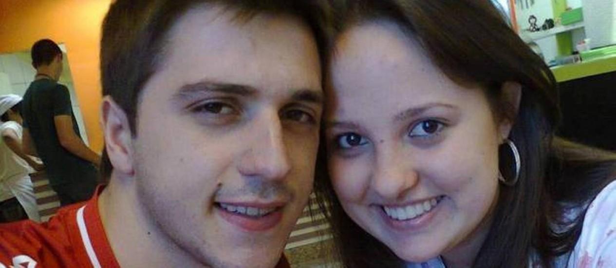 O casal Roger Dallagnol e Susiele Cassol estava entre as vítimas da boate Foto: Reprodução de internet