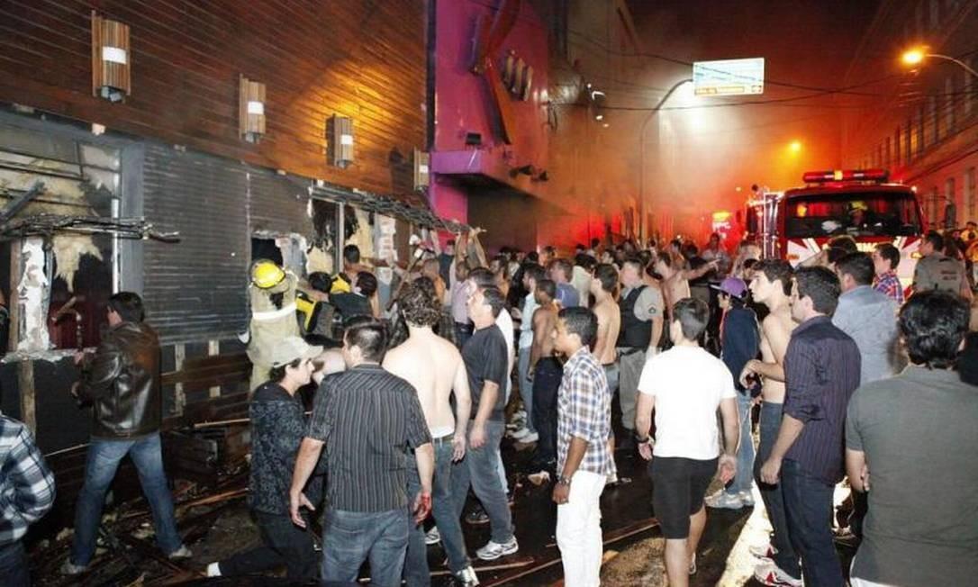 Incêndio em boate em Santa Maria deixa mortos e feridos Foto: Zero Hora / Germano Roratto/Especial