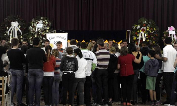 O último corpo foi identificado na manhã desta segunda-feira Juan Barbosa / Agência RBS