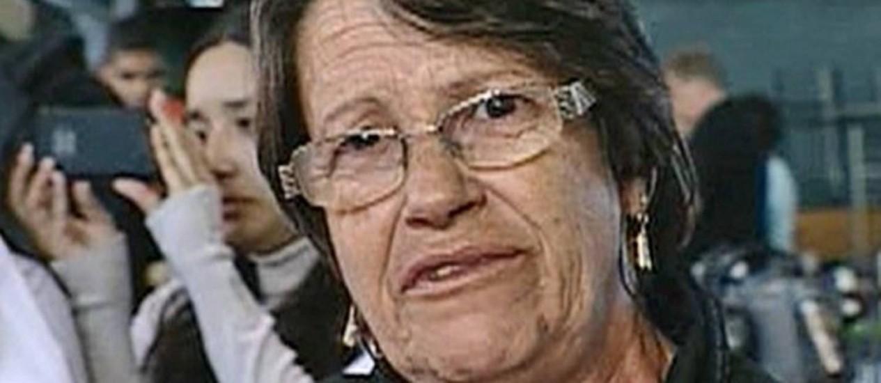 Tragédia em Santa Maria: Elaine Gonçalves desabafa no programa 'Mais você' Foto: Reprodução / TV Globo